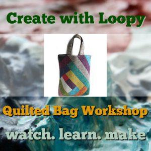quilted bag workshop